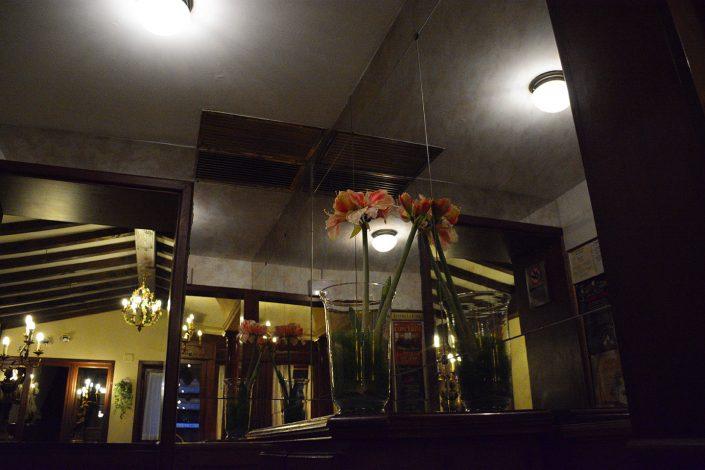 decorazione interni hotel falier