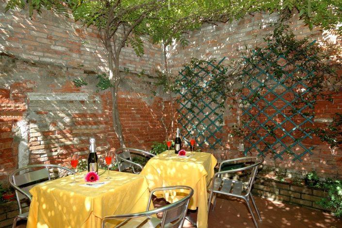 terrazza hotel falier a venezia