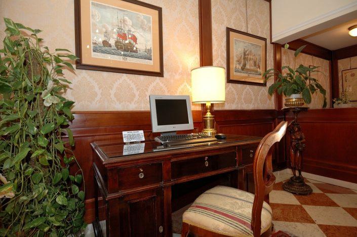 interni hotel venezia 2 stelle