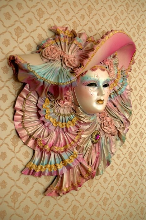 maschera carnevale decorativa