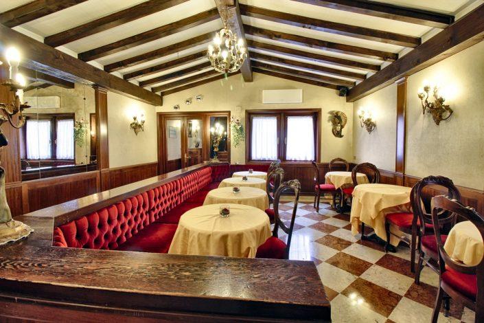 sala da pranzo albergo venezia